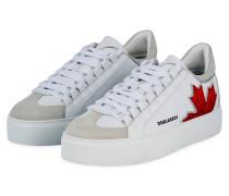 Plateau-Sneaker 551 - WEISS