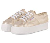 Plateau-Sneaker 2790 LAMEW - WEISS/GOLD