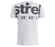 T-Shirt J-CLARK - grau meliert