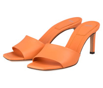 Mules BIANCA 65-C - ORANGE