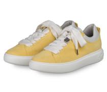 Plateau-Sneaker FLORA - GELB