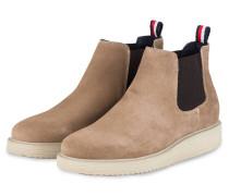 Chelsea-Boots - BEIGE