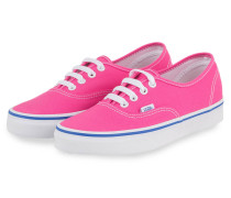 Sneaker AUTHENTIC - PINK