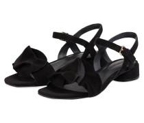 Sandaletten CAMOSCIO - SCHWARZ