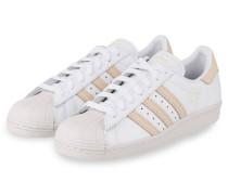 Sneaker SUPERSTAR 80S - WEISS/ BEIGE