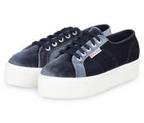 Plateau-Sneaker 2790 VELVET - GRAU