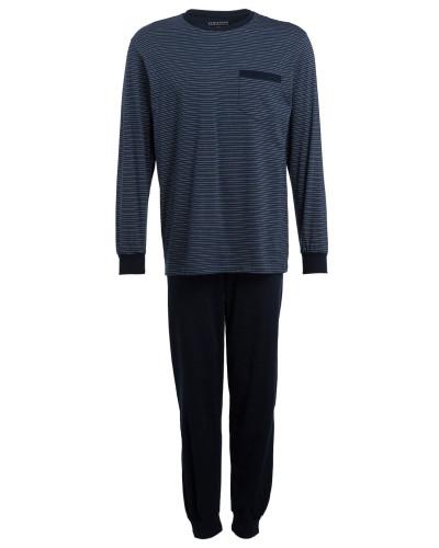 Schlafanzug - dunkelblau/ blau
