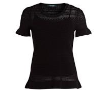 Strickshirt RIZALTO - schwarz