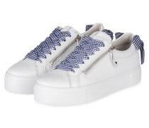 Plateau-Sneaker BIG - WEISS/ BLAU