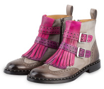 Boots SALLY 93 - GRAU/ PINK