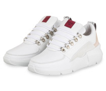 Plateau-Sneaker LUCY ROYAL - WEISS