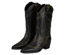 Cowboy Boots HIGH TEXAS - SCHWARZ