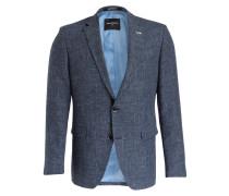 Sakko ROMEDIO Slim-Fit - blau meliert