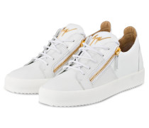 Sneaker DOUBLE - WEISS/ GOLD