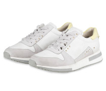 Sneaker - HELLGRAU/ GELB/ WEISS