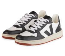 Sneaker V-10 BASTILLE - SCHWARZ/ WEISS