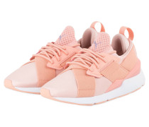 Sneaker MUSE X STRAS - APRICOT