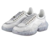 Sneaker DIAMOND - SILBER/ WEISS