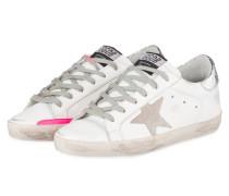 Sneaker SUPERSTAR - WEISS/ SILBER/ PINK