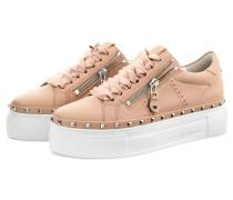 Plateau-Sneaker NANO - NUDE