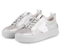 Sneaker MEGA - SILBER/ WEISS