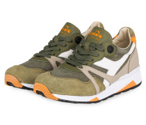 Sneaker N9000 - oliv/ taupe/ weiss