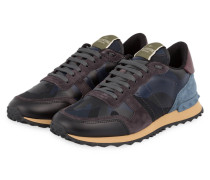 0dddaf3f4e4aa5 Sneaker ROCKRUNNER CAMOUFLAGE - MARINE. Valentino
