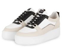 Plateau-Sneaker ELSIE BLUSH - WEISS/ CREME