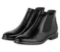 Chelsea-Boots - SCHWARZ/ SILBER