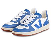 Sneaker V-10 BASTILLE MESH - BLAU/ WEISS