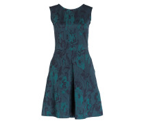 Jacquard-Kleid PLATANO - dunkelgrün