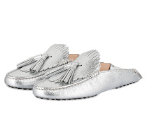 Slipper GOMMINO - silber metallic