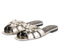 Sandalen - gold metallic