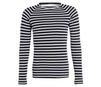 Pullover CHESTNUT - weiss/ navy gestreift