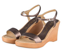 Wedges RITA - BRONZE