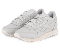 Sneaker CLASSIC LEATHER - HELLGRAU/ SILBER