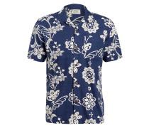 Resorthemd CAMP Regular Fit mit Leinen