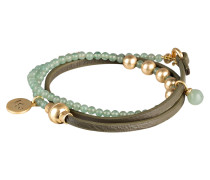 Armband BE RELAXED - oliv/ gold