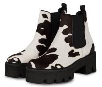Chelsea-Boots IRA - DUNKELBRAUN/ ECRU