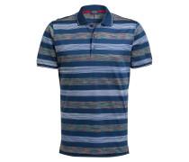 Jersey-Poloshirt - navy/ offwhite/ gelb