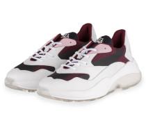 Sneaker SWIPE RUNNER - WEISS/ DUNKELROT