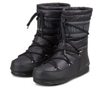Moon Boots MID NYLON WP - SCHWARZ