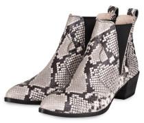 Chelsea-Boots - SCHWARZ/ WEISS/ GRAU