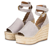 Wedges LAUREN - ELEPHANT GREY