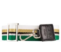 Schulterriemen - grün/ weiss/ schwarz