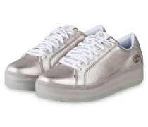 Plateau-Sneaker MARBLESEA - SILBER