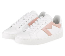 Sneaker FRENCHY - WEISS/ ROSÉ