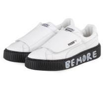 Sneaker PLATFORM - WEISS