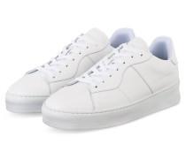 Sneaker LIGHT PLAIN COURT - WEISS