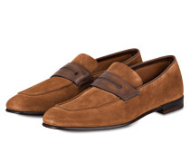 Penny-Loafer - cognac
